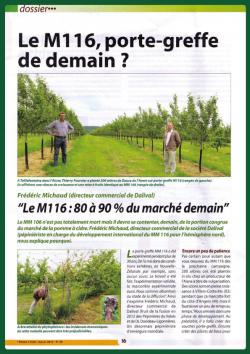 Dalival M116 Presse 2015